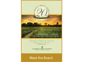 Meet the Board Brochure